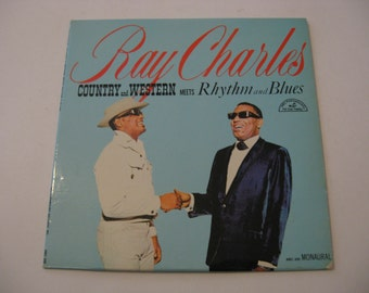 Ray Charles - Country and Western Meets  R&B - Circa 1965
