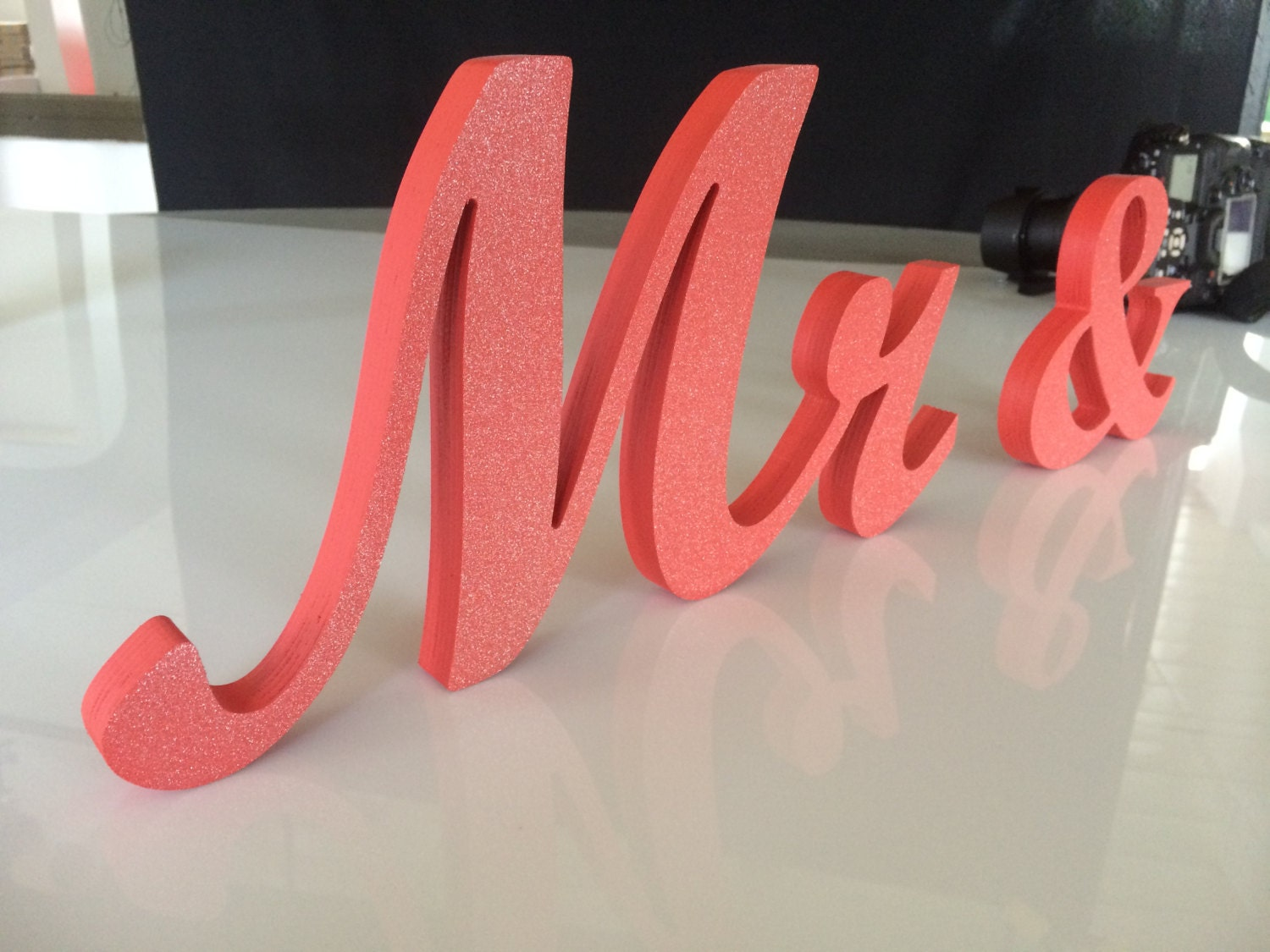 DIY Or Painted Mr And Mrs Wedding Signs Wooden Letters For
