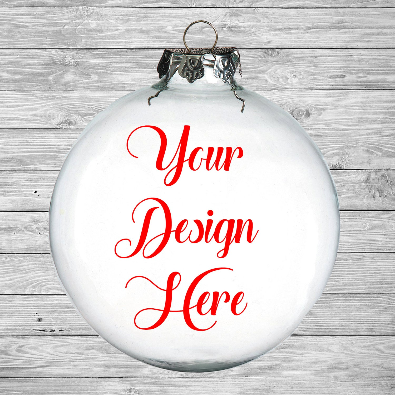 Design Your Own Ornament Christmas Ornament Custom Ornament