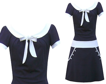 Pure dress Navy