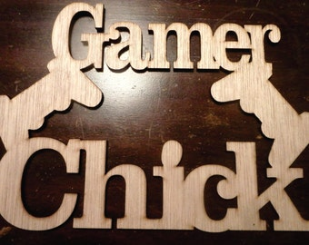 gamer sign/ customizable/ great gift LARGE