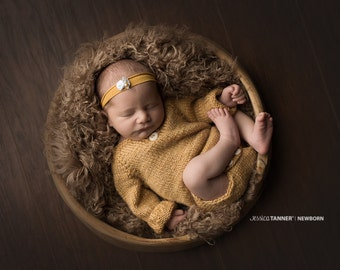 Taupe Curly Mongolian Faux Fur Prop, Newborn Baby Photo Prop, Faux Sheep Fur, Neutral Photo Prop, Fuzzy Layering Blanket.