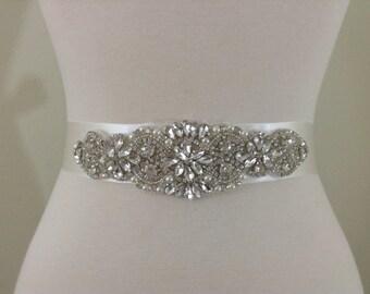 Big sale bridal sash, bridal belt, prom sash, dress sash