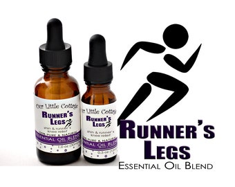Runner's Legs Essential Oil Blend, Pain Relief, Runner's Knee, Shin Splints, Athletic Pain Relief, Sore Muscles, Muscle Relief, Sore Shins
