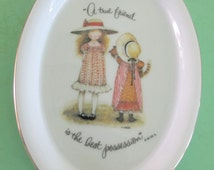 Popular Items For Holly Hobbie Plate On Etsy