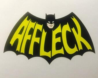 Batman, Affleck decal