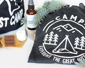 Camping Tank, Women's Apparel, Camp, Experience the Great Outdoors, Outdoor Lover, Outdoor Wear, Gift for Wife