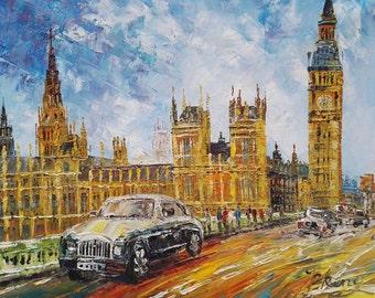 London Big Ben, UK -Pen King -A1111