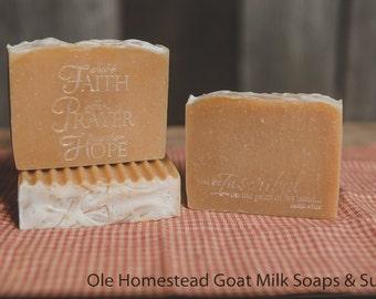 Herbal Shampoo & Body Bar Goat Milk Soap