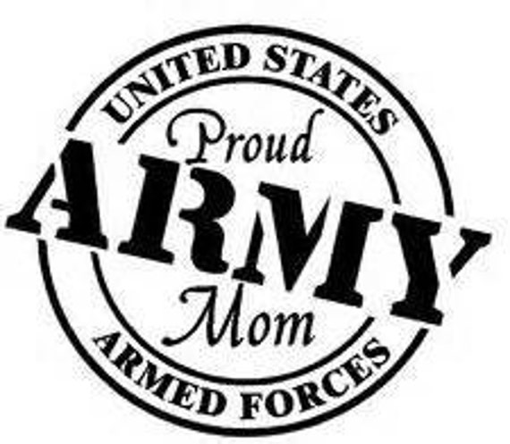 Army yeti Decal Sticker,  boot camp graduation, cup decal, decal for women, rambler decal, Army mom decals, Army decals, Army love decal