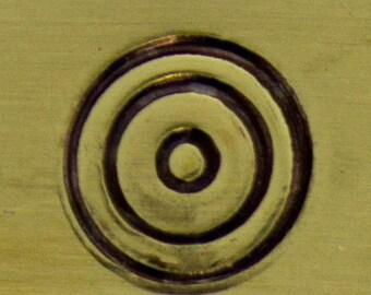 Alternative Design Stamp- Concentric Circle (PN5067)