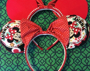 50% OFF SALE!! Minnie Mouse Ears