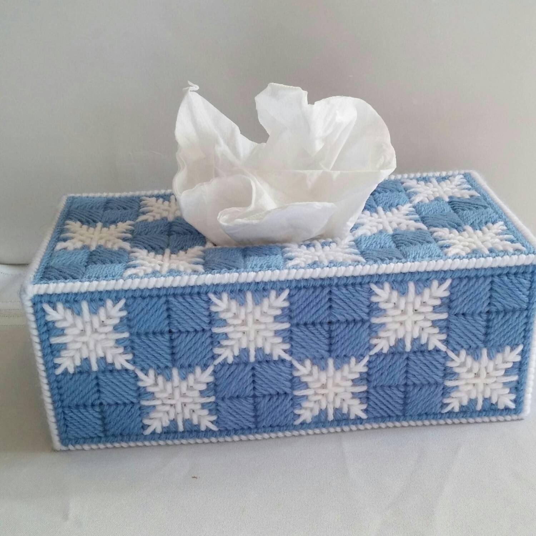 Snowflake Tissue Box Cover