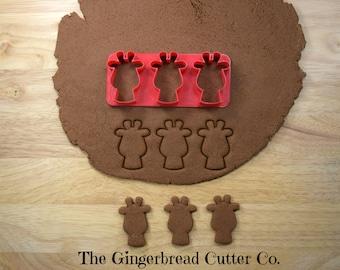 Giraffe Mini Cookie Cutter Stick