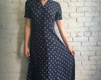 Liz Claiborne Button-Up Dress
