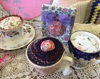 Pretty embelished Pin cushion