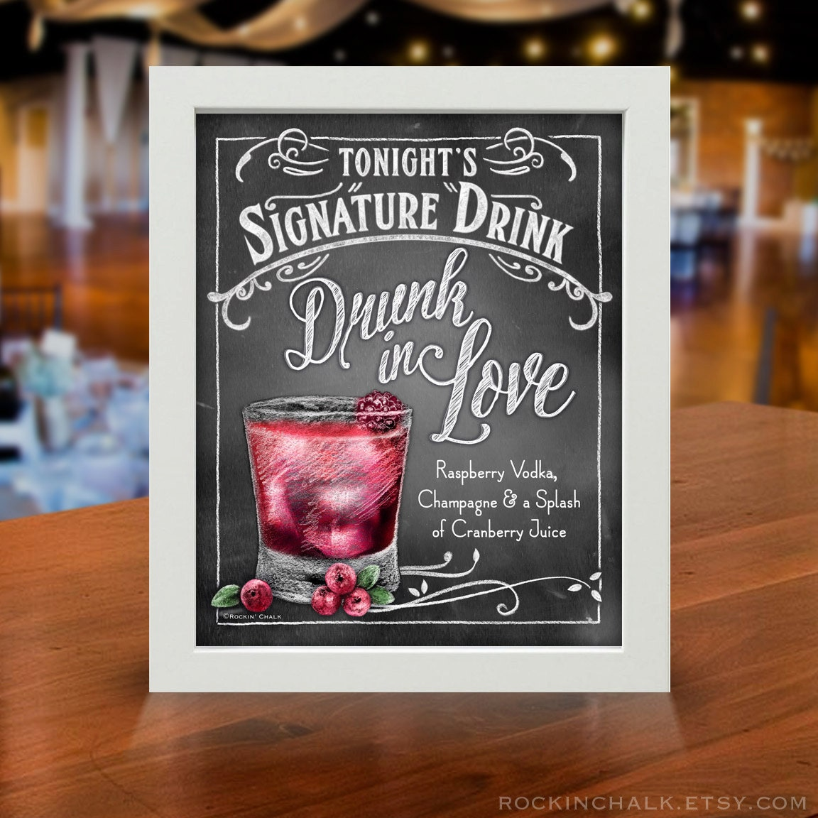Pleasant Signature Drink Signs Wedding Reception Gamestop Guitar Interior Design Ideas Tzicisoteloinfo