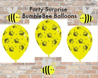 Bumblebee Balloons 11 Bumble Bee Shower Party Decorations Who Will It