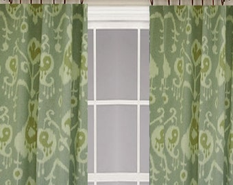 ikat curtains curtains sale choose your color choose your length custom made drapes