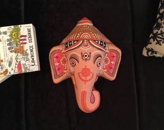 The Elephant God Series - Ganesha Wall Hanging Mask