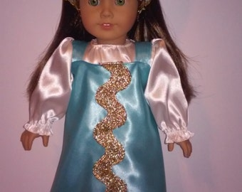 """18'' Dolls Clothes, Handmade Russian outfit , sarafan,  fits 18"""" dolls"""