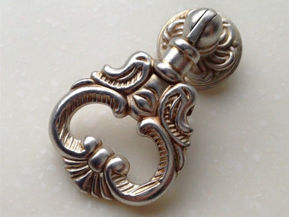 drop ring knob pulls antique silver dresser knobs drawer pulls knobs