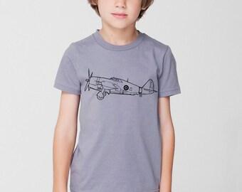 KillerBeeMoto: P47 Thunderbolt Fighter Plane Short & Long Sleeve Shirt Cartoon Version