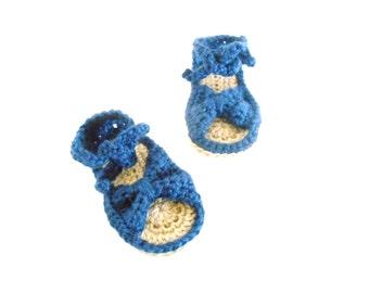 Crochet Baby Sandals - Crochet Newborn Sandals - Crochet Baby Shoes - Crochet Newborn Shoes - Baby Bow Sandals  - Summer Sandals for Babies