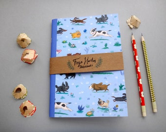 Dogs Sketchbook / A5 Notebook / Journal / Diary / Sketchbook