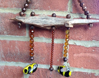 Bizzy buzzy bee indoor windchime/ hanging