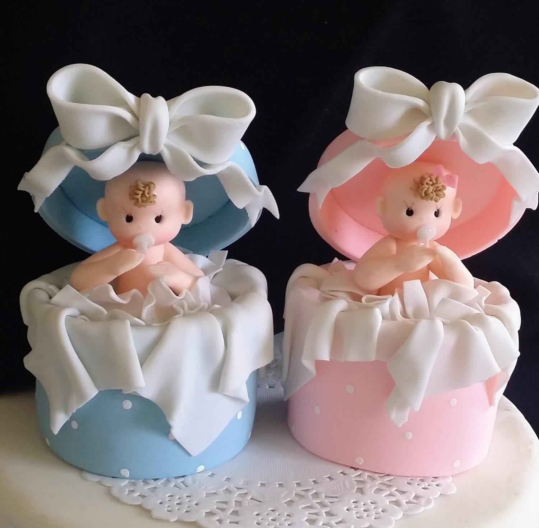 Baby Stork Cake Topper