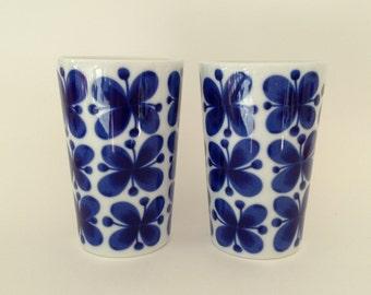 2 Rörstrand 'Mon Amie' Mugs designed by Marianne Westman
