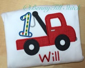 birthday shirt for boys|truck shirt for boys|boys birthday outfit|truck birthday|birthday shirt for boy|birthday outfit|tow truck shirt