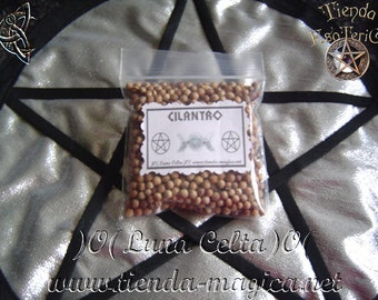 Bag of coriander (negative energies cleaner)