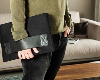 Handmade MacBook Pro case MacBook Pro cover MacBook Pro leather case MacBook Pro felt case Mac Pro 13 cover Pro Retina case Retina cover