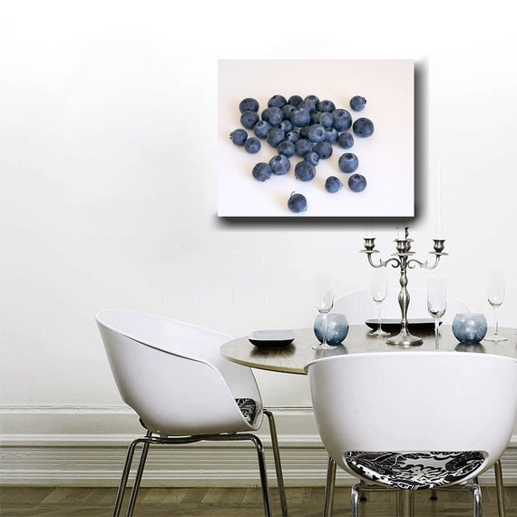 Kitchen Canvas Art Modern Dining Room Decor Fruit Wall