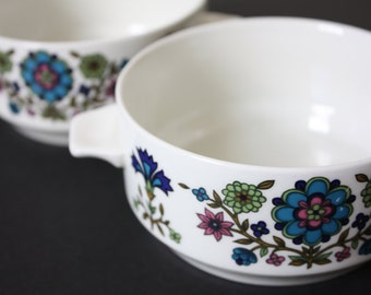 2 Staffordshire 'Midwinter' Soup or Cereal Bowls