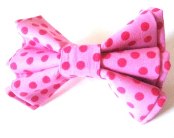 Pink dog bow tie Collar bow tie Pet bow tie