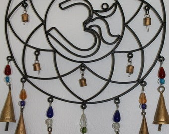 Om Mandala Wind Chime