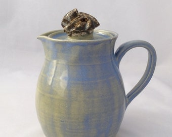 Light Blue Pitcher