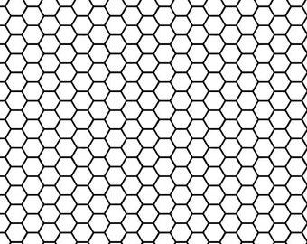 Honeycomb Black and White Photo Backdrop