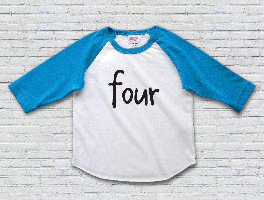 4th Birthday Shirt Fourth Girl Oufit Boy