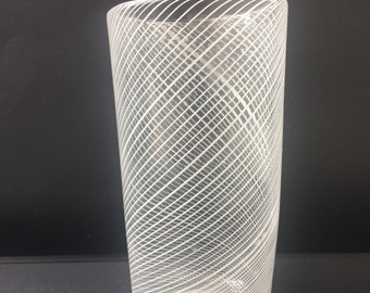One of a kind hand blown glassware item.