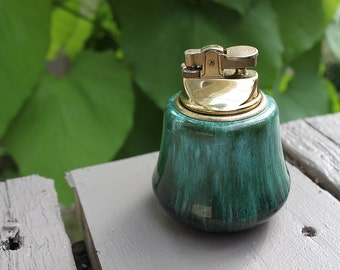 Blue Mountain Pottery Lighter (Butane) Vintage 1960s