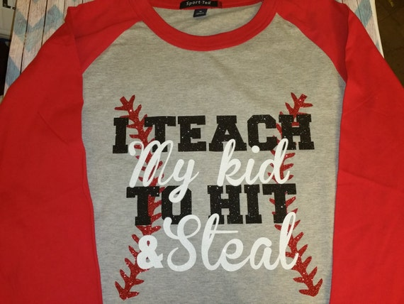 baseball shirts baseball designs 3 4 sleeve baseball tee
