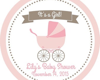 custom baby shower labels girl boy baby shower label mason jar labels choose