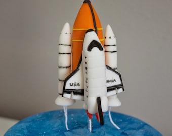Fondant Space Shuttle