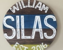 Popular Items For Baby Name Sign On Etsy