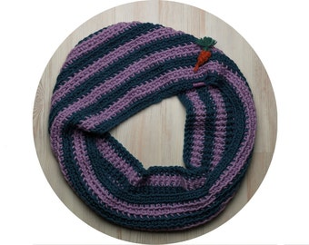 Misty Plum Snood