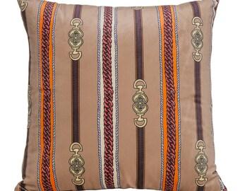 "Interior Illusions Khaki Couture Pillow - 16"" Wide"